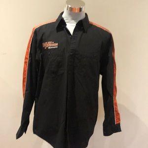 Men's Harley-Davidson bottom down shirt size L